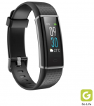 SBS Mobile Chroma Fit Curved Touch Fitness Horloge - Zwart